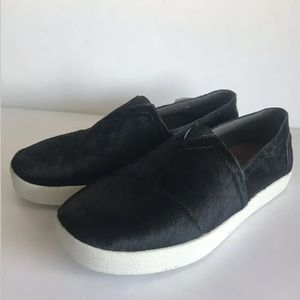 TOMS Sneakers Pony Hair Slip On Casual Loafers